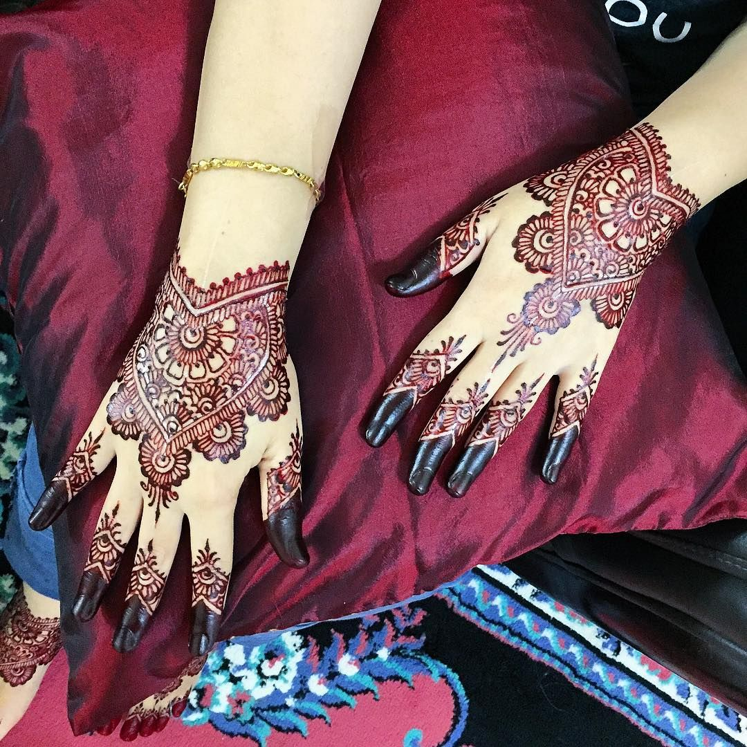 Aaain Henna Services Full Set Henna Pengantin Date 20 April 2018