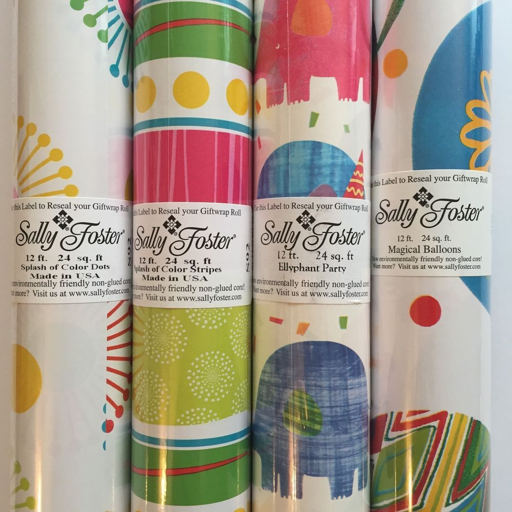 Nice Sally Foster Gift Wrap Part - 10: Sally Foster Gift Wrap Birthday Cake Stars Stripes Wrapping Paper Lot Of 3  Rolls #SallyFoster #BirthdayAdult | Sally Foster Gift Wrap | Pinterest |  Wrapping ...