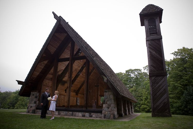 Chaple Destination Wedding Boyne Highlands Resort Photo