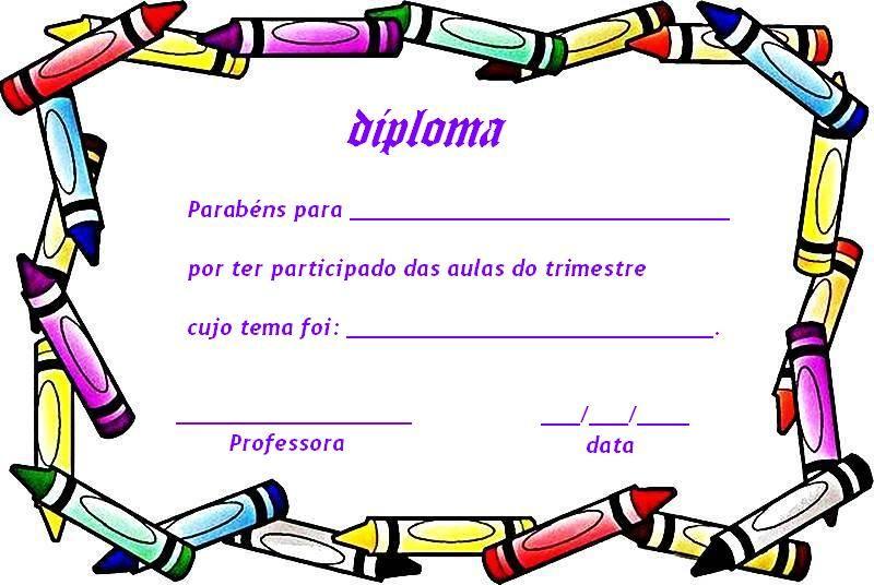 Diplomas para imprimir para niños de primaria - Imagui | Plantillas ...