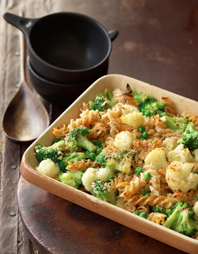 The Deen Bros Veggie Mac and Cheese Casserole Can't wait to make this!!