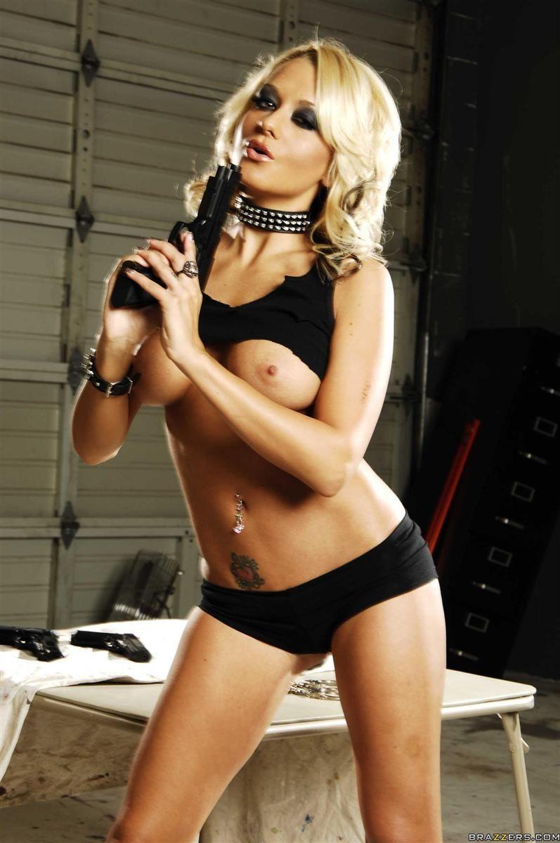 Briana Blair Briana Blair Weapons Guns Firearms Weapon Gun Coat