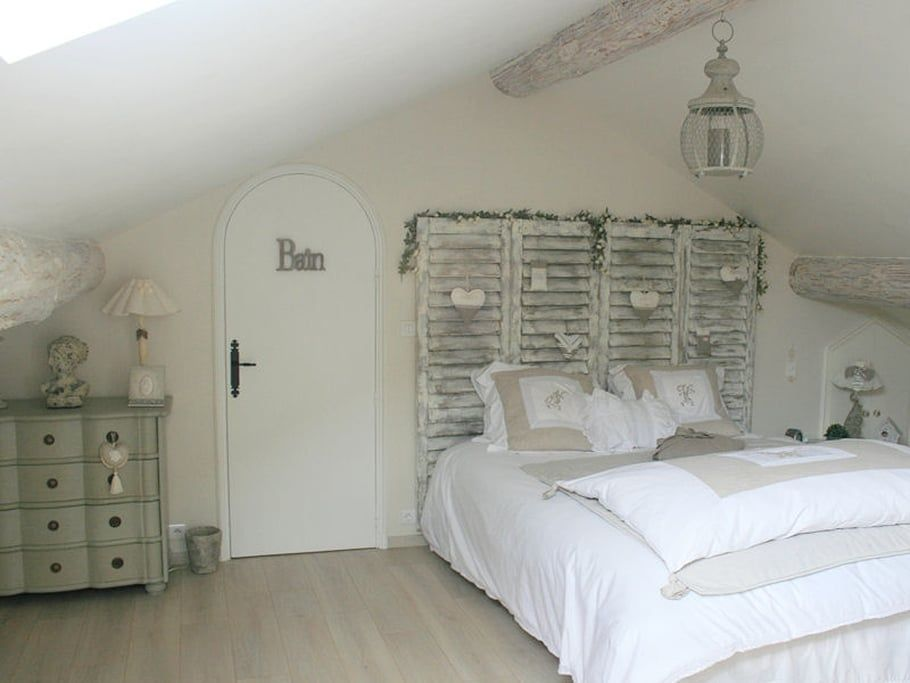 La chambre parentale, romantique   Maison Déco: séjour,chambres ...