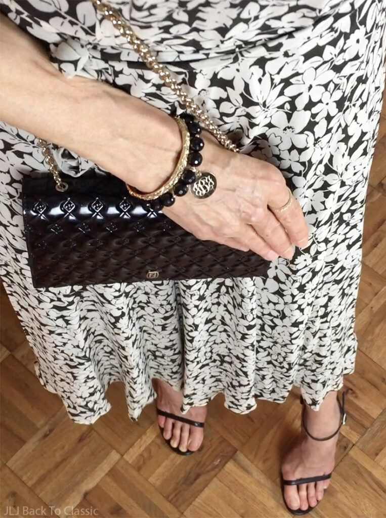 Style Over 50: Favorite Black Floral Midi Dresses
