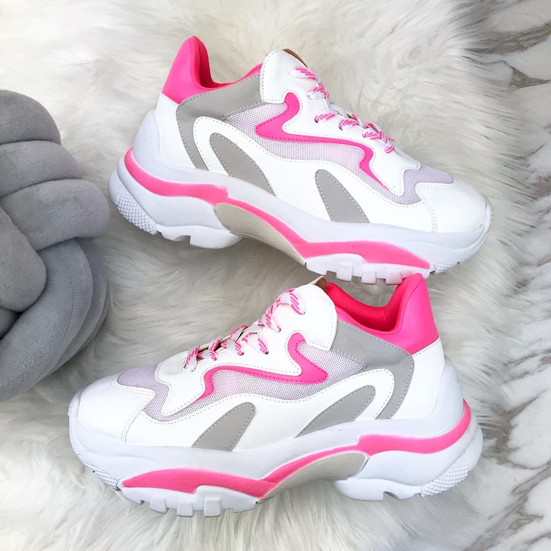 Inesperado Boda Regenerador  Sneaker neon Pink | Tênis feminino, Feminino, Tenis
