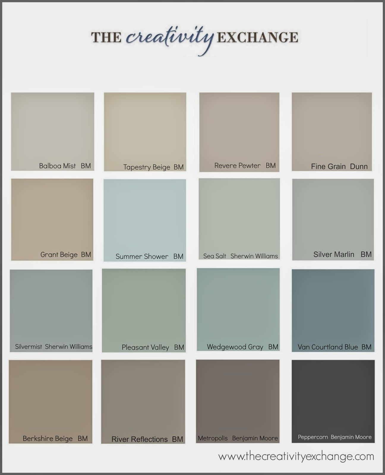 Benjamin moore color chart home decor and design for the home