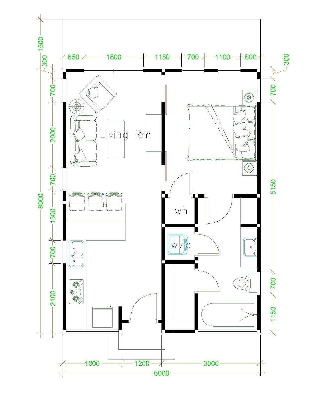 Studio House Plans 6x8 Shed Roof Free Download Tiny House Design 3d Tiny House Floor Plans Tiny House Design Tiny House Plans