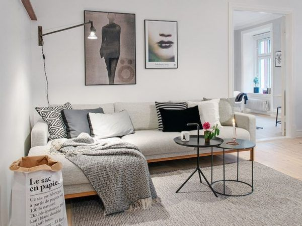 Afbeeldingsresultaat voor hoekbank kleine woonkamer | bank ...
