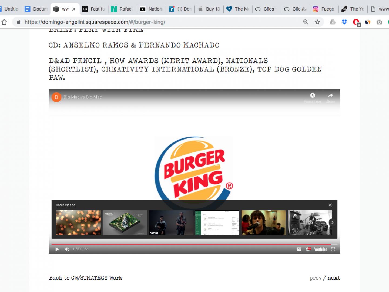 Burger King Big Mac Vs Big Mac