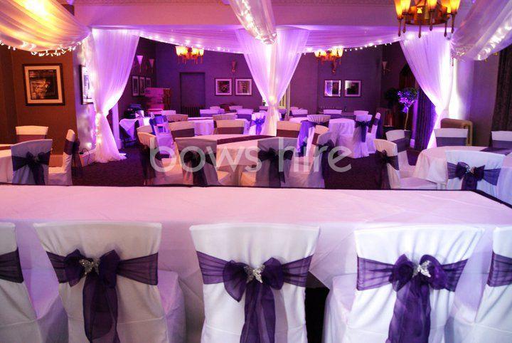 Bows Hire Venue Decoration With Images Venue Decoration