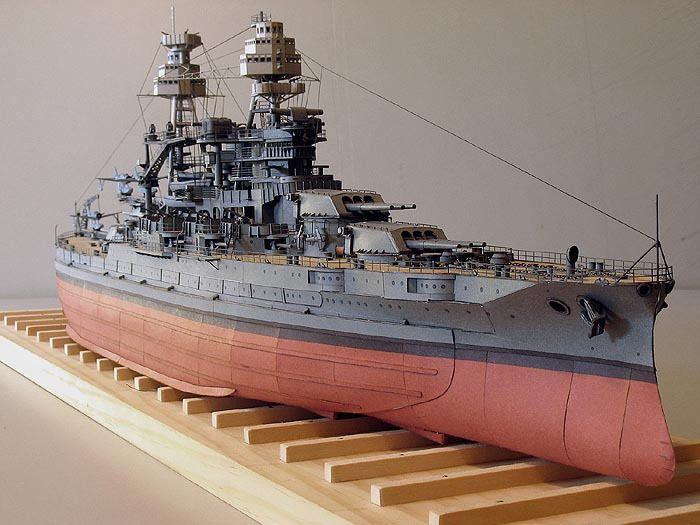 Kartonmodell USS Arizona Memorial in Pearl Harbor 1:200 JSC
