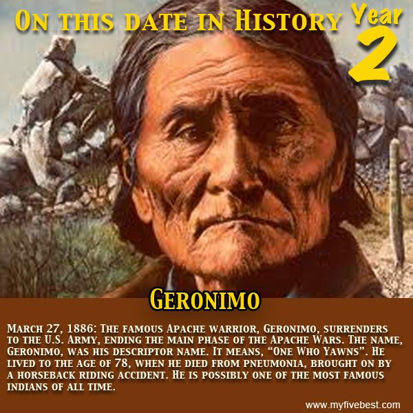 """geronimo a great warrior of america Warrior geronimo, apache goyaałé 1829-1909 chief geronimo geronimo famous quote: """"i was no chief and never had been, but because i had."""