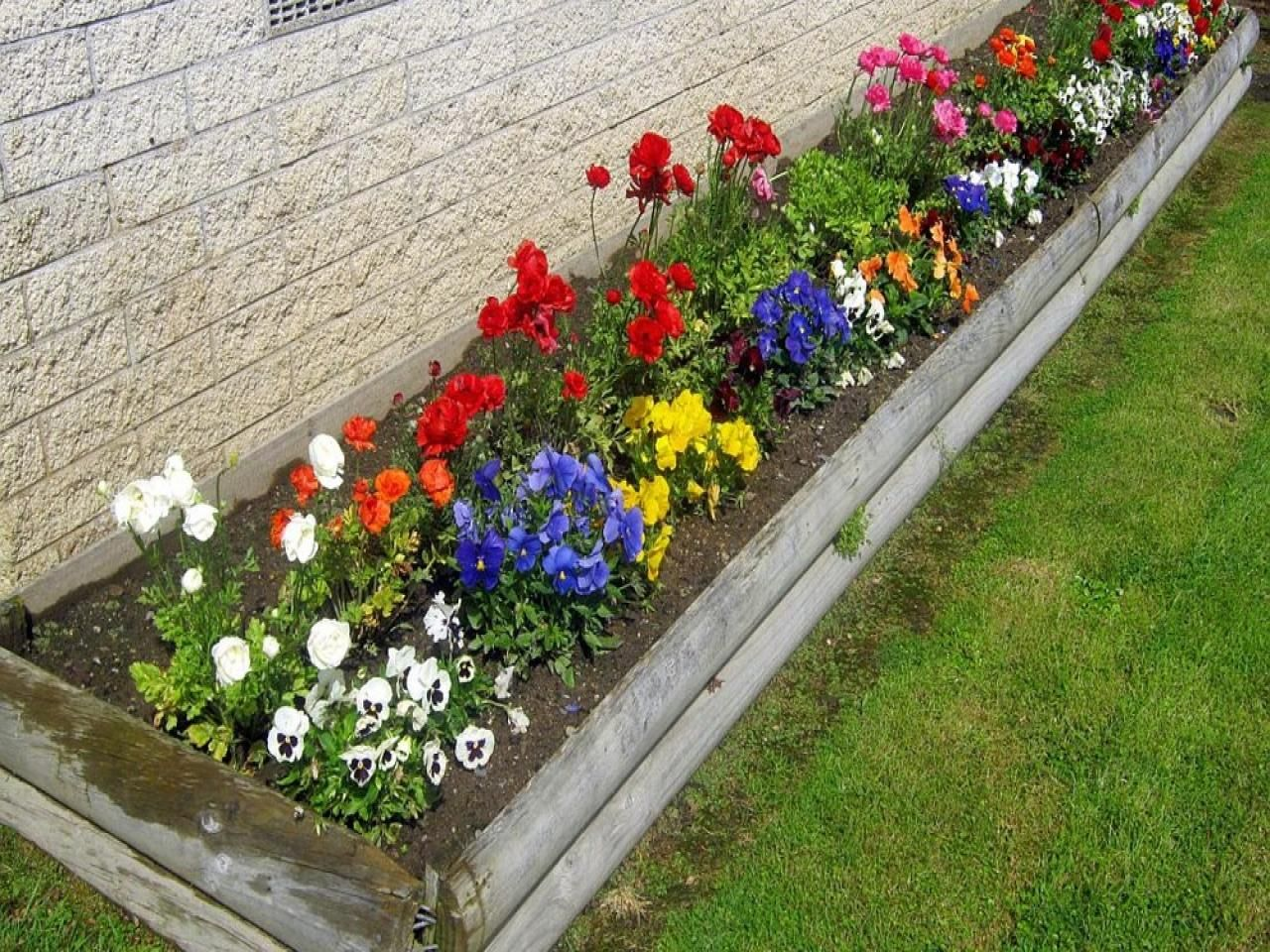 46 popular ideas for a small rectangular flower bed