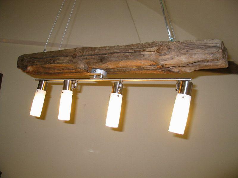 Hängeleuchte Treibholz hängelampen - treibholz eichen balken hängelampe pendelleuchte - ein