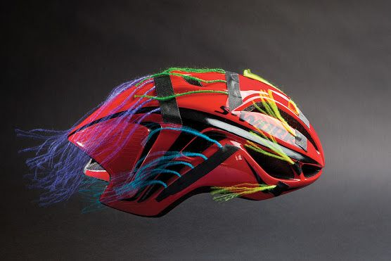 The Velonews Tech Team Goes To The Wind Tunnel To Find Out How Much Of An Advantage Aero Road Helmets Can Offer Helmet Competitive Cycling Bike Helmet