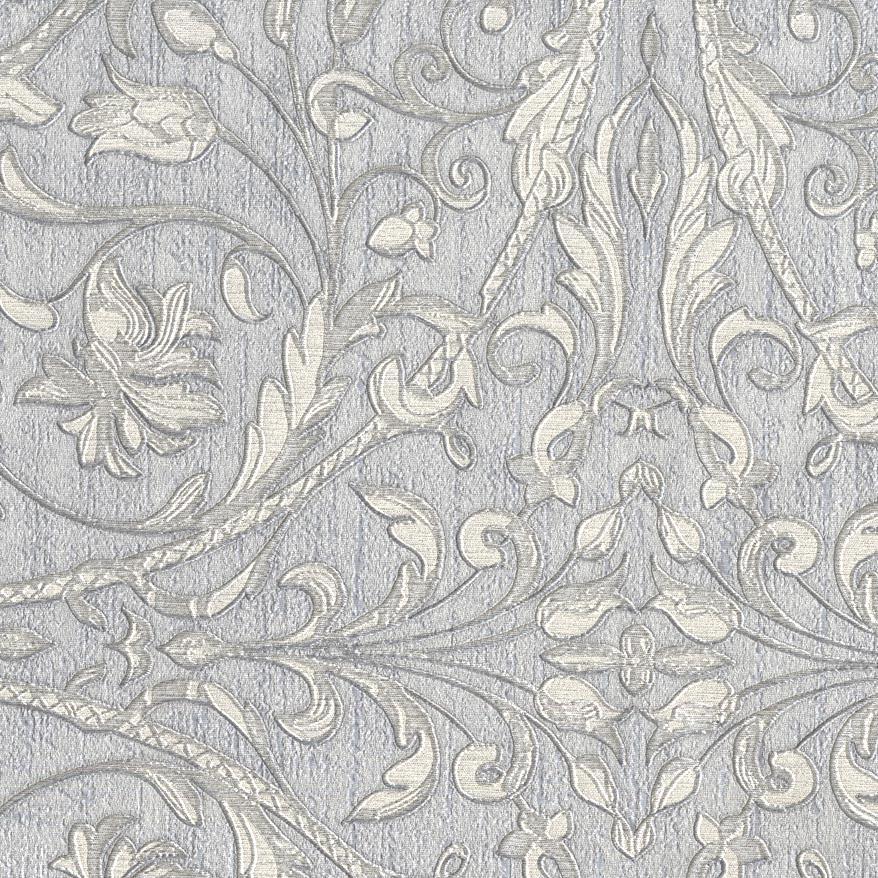 Sirpi Wallpaper Fenice Silver Grey 24127 Wonderwall By Nobletts Silver Wallpaper Vinyl Wallpaper Silver