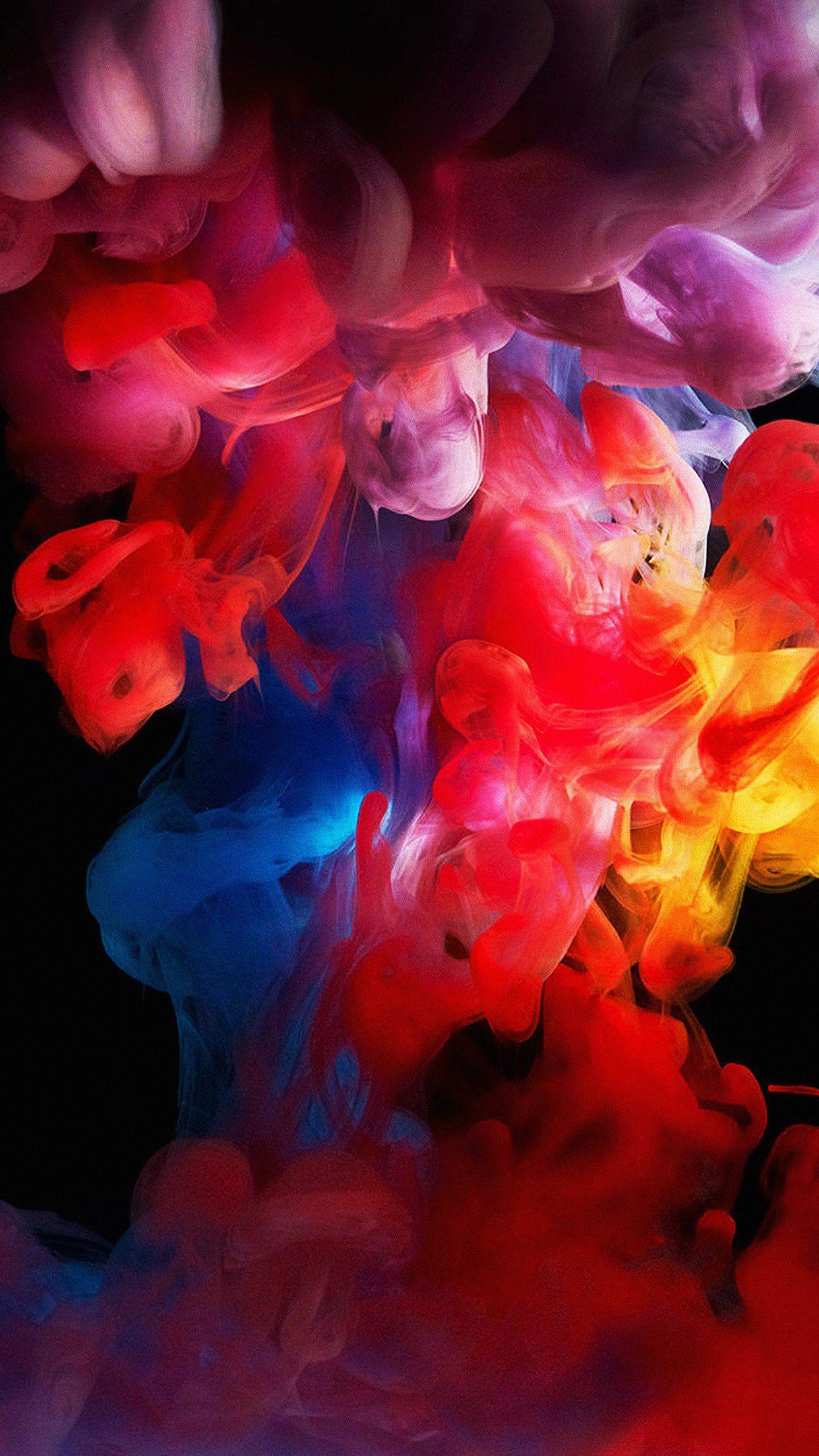 Am70 Smoke Color Dark Abstract Fog Art Illust In 2019