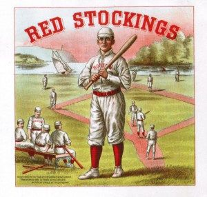 On January 20, 1871 (yes, that is 1871) the Boston Red Stockings incorporated. It just so happened they were a charter member of National Association of Professional Baseball Players. Pretty innocu...