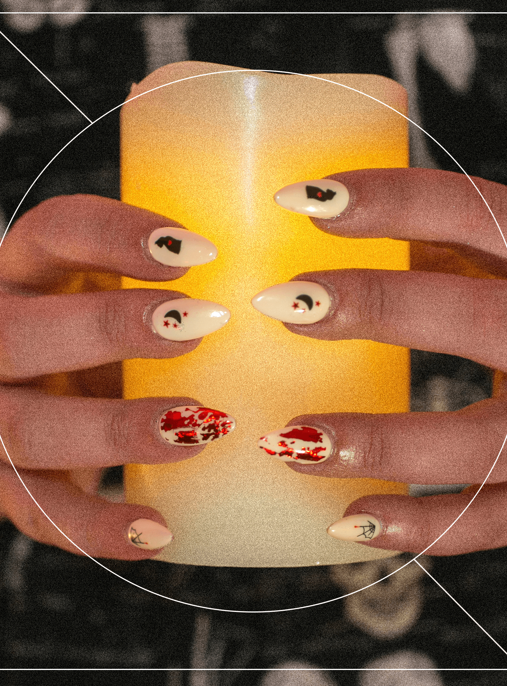 7 Spooky Nail Designs For Your Best Witching Season Yet Refinery29 Paid Halloween Nail Designs Nail Designs Witch Nails