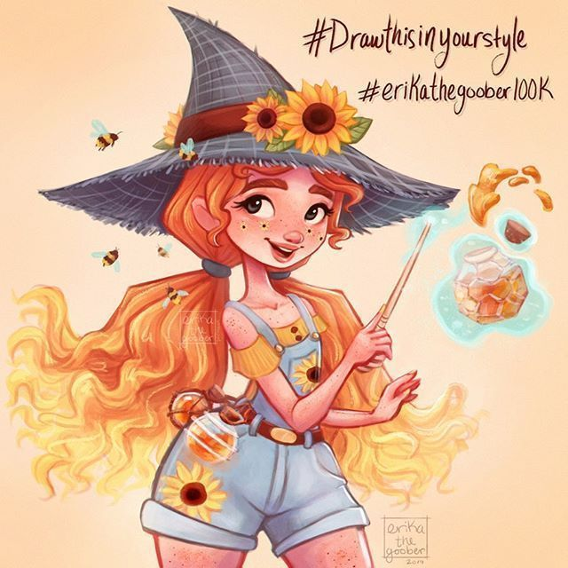 Meet #Izzy #the #Beekeeper #Witch! #She's #my -