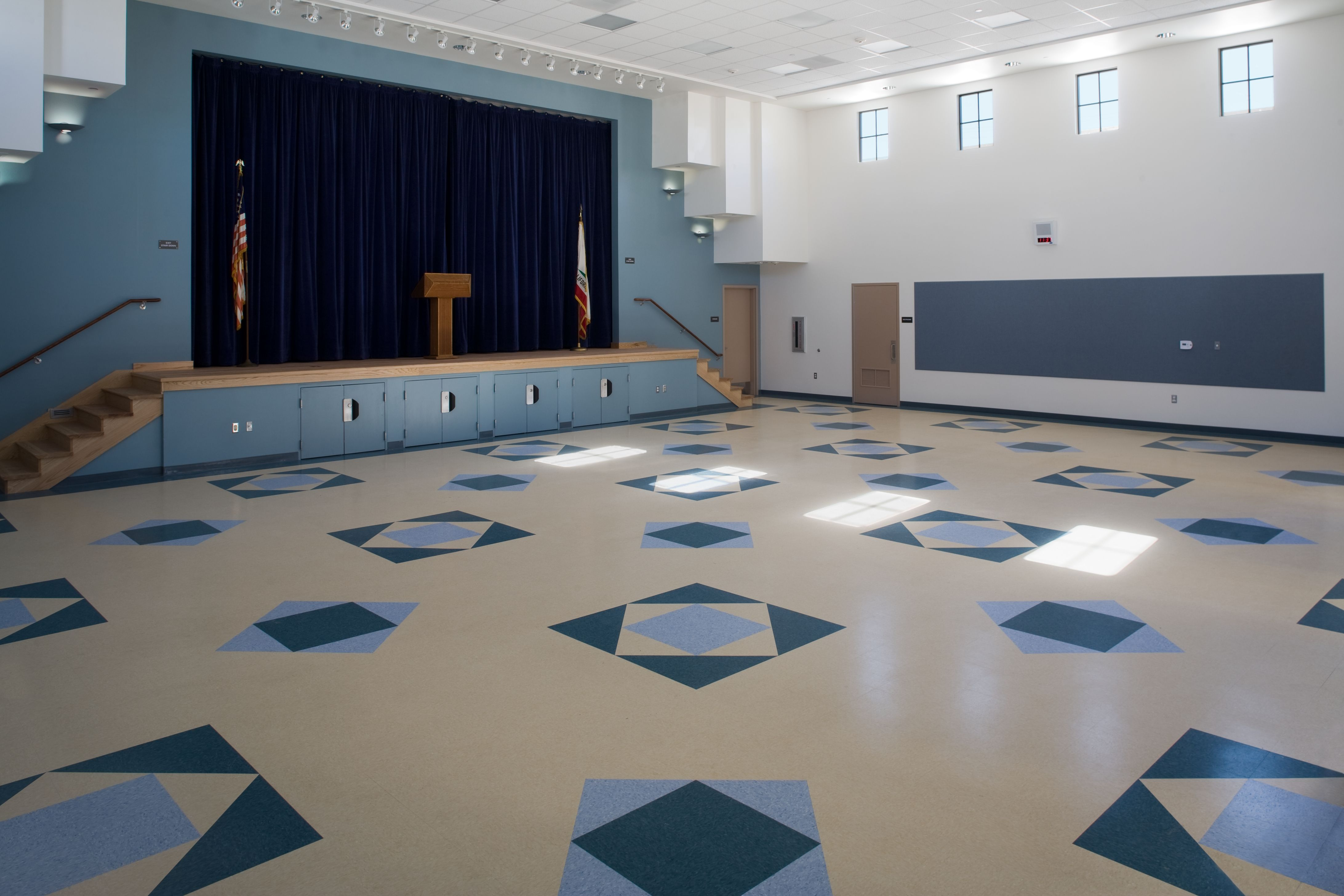 Cabrillo Elementary School Multipurpose Room K 12