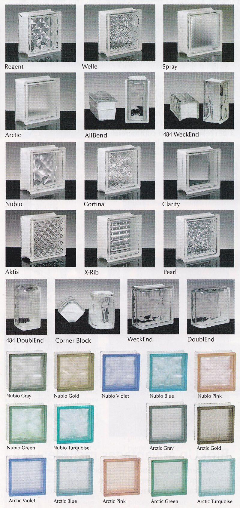 Glass Building Blocks : Glass block masonry building material
