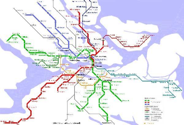 Reszletes Metro Terkep Stockholm Letoltes Kinyomtatni