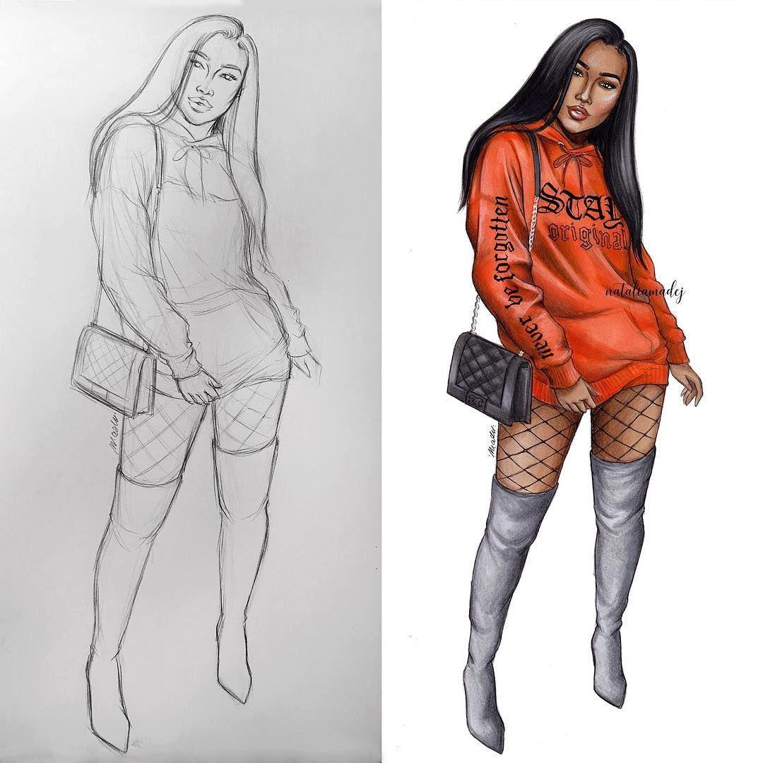Cause She S A Fashion Killa Fashiondrawing