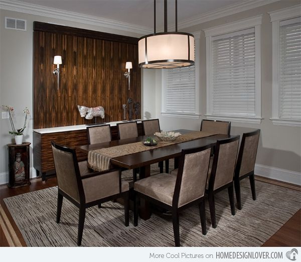 15 Asian Inspired Dining Room Ideas Modern Dining Room Lighting