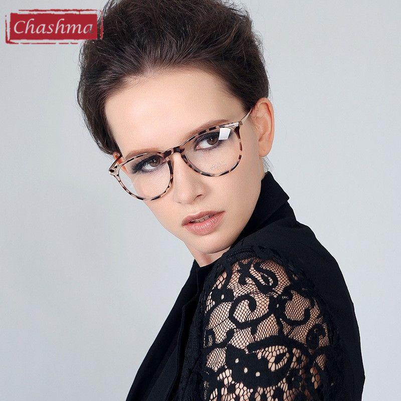 Cheap Chashma Classic Brand Design Mujeres Marco Óptico Gafas de ...