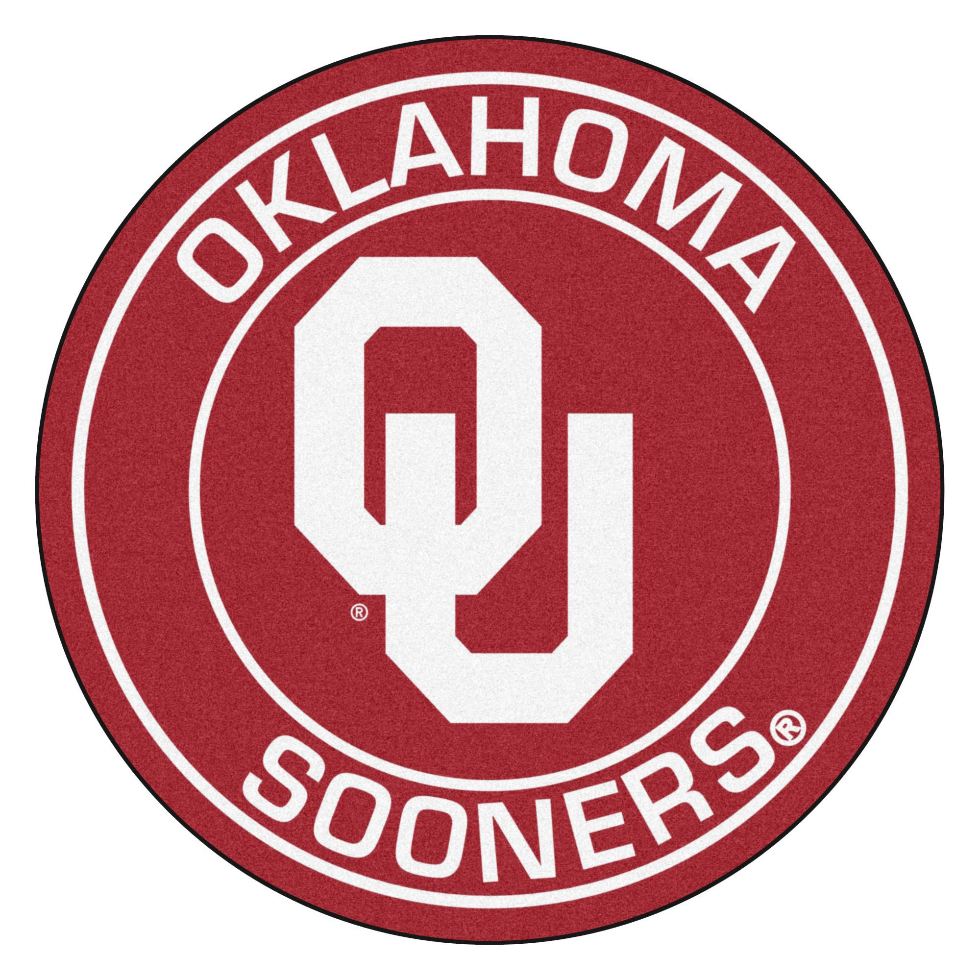 NCAA University of Oklahoma Sooners Rounded NonSkid Mat