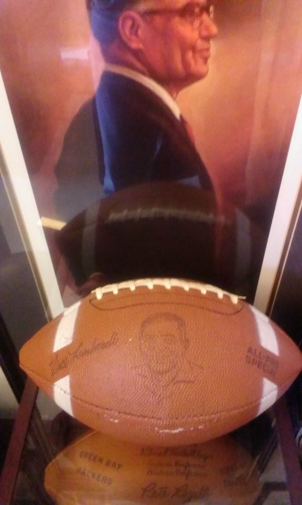 VINTAGE 1960S GREEN BAY PACKERS OLD CHAMPIONSHIP VINCE LOMBARDI FOOTBALL