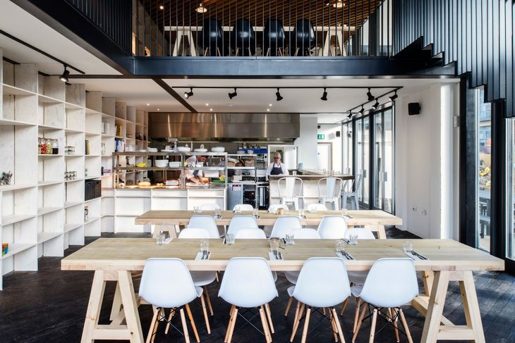 Mezzanine restaurant google search interior pinterest mezzanine and interiors - Mezzanine design ideas ...