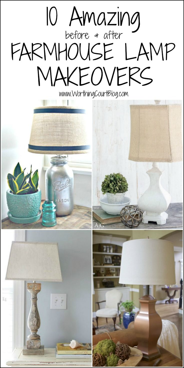 10 Amazing Diy Farmhouse Lamps To Try Right Now Worthing Court Farmhouse Lamps Farmhouse Diy Farmhouse Lampshade