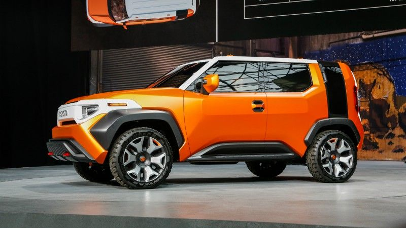 Toyota Ft 4X >> Toyota Ft 4x Concept Is The Perfect Crossover Off Road
