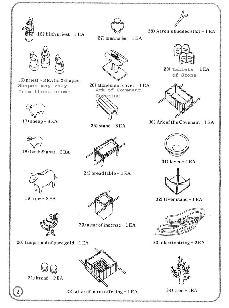 Coloring pages furniture - Tabernacle Coloring Pages For Kids