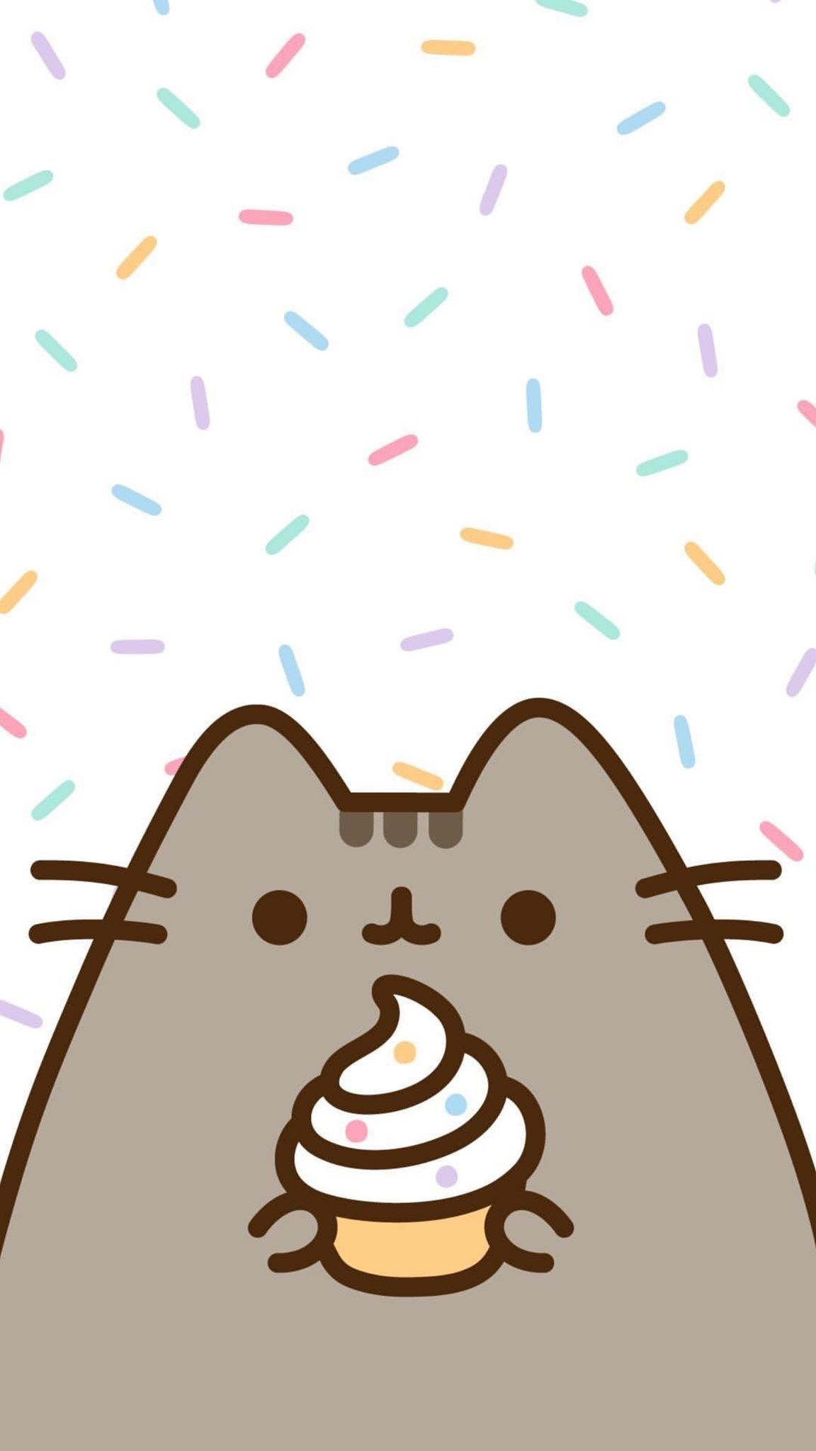 Pin By Caellita Liss On Pusheen Pusheen Cat Cute Wallpapers Kawaii Wallpaper