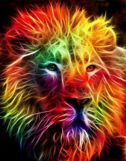 rainbow lion of judah awesome