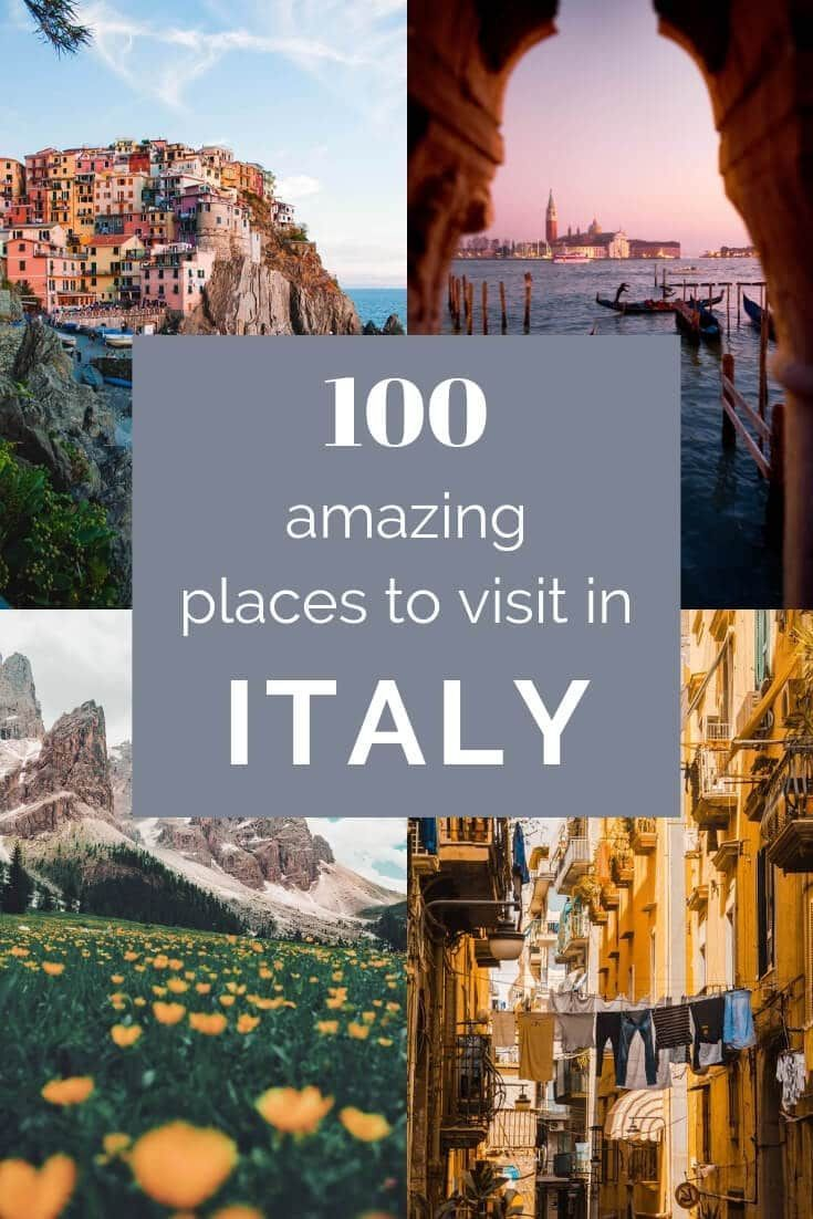 Photo of The Best Places to Visit in Italy