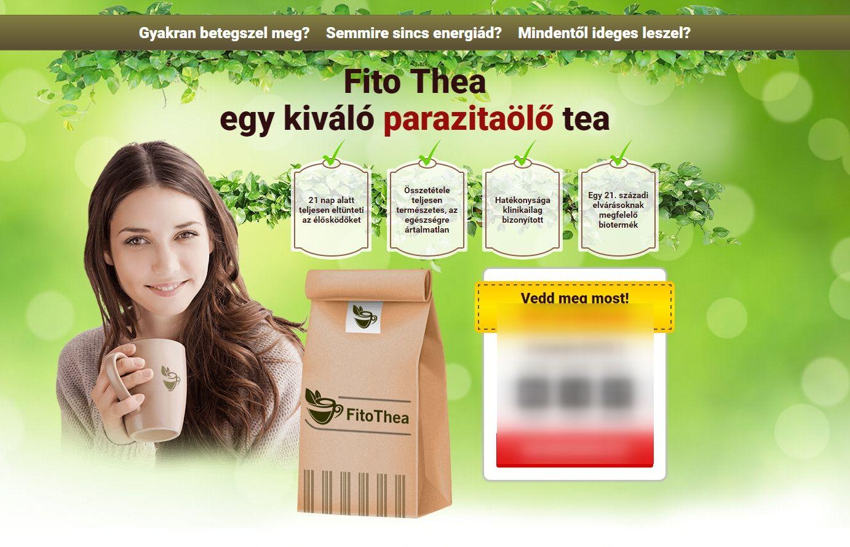 parazitaölő tea helminth cyst