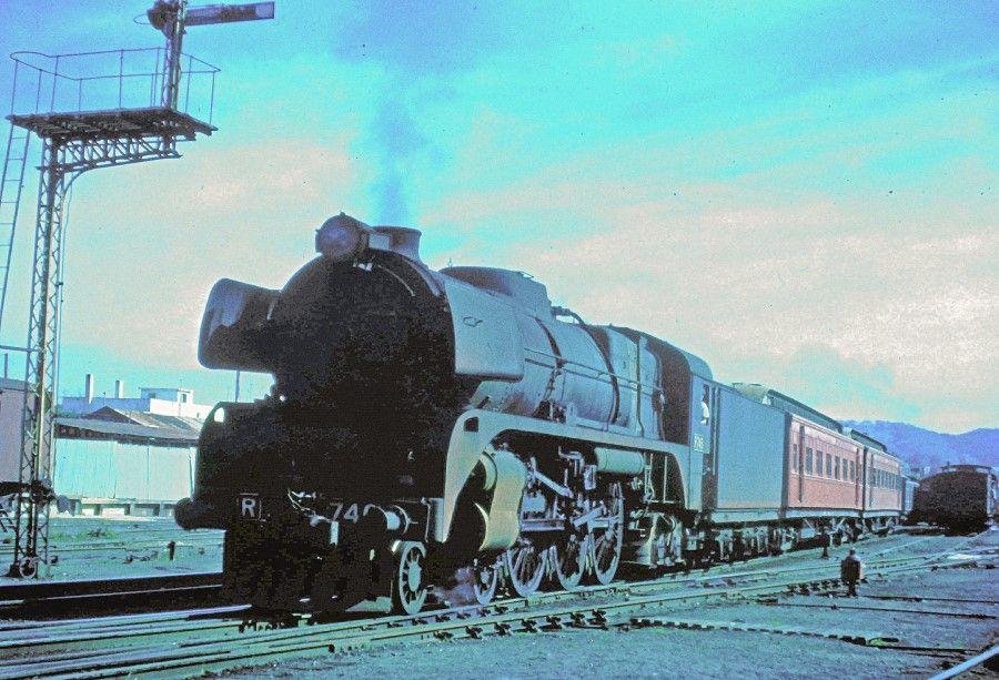 Vr R Class 4 6 4 1951 1967 Train Locomotive Steam Trains