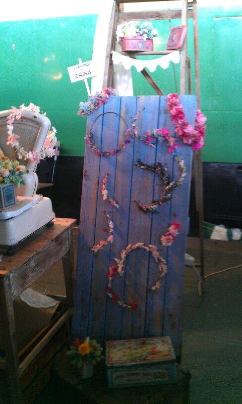Diseñ de coronas de flores