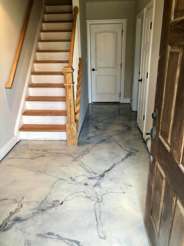 Italian Marble Epoxy Floor Harrisonburg Epoxy Flooring