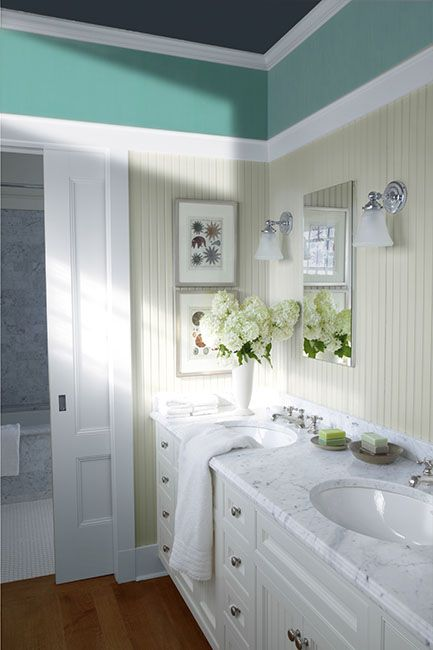 Bathroom Color Ideas  Inspiration Pinterest Double vanity