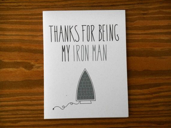 Anniversary card. wife to husband fathers day card. for him