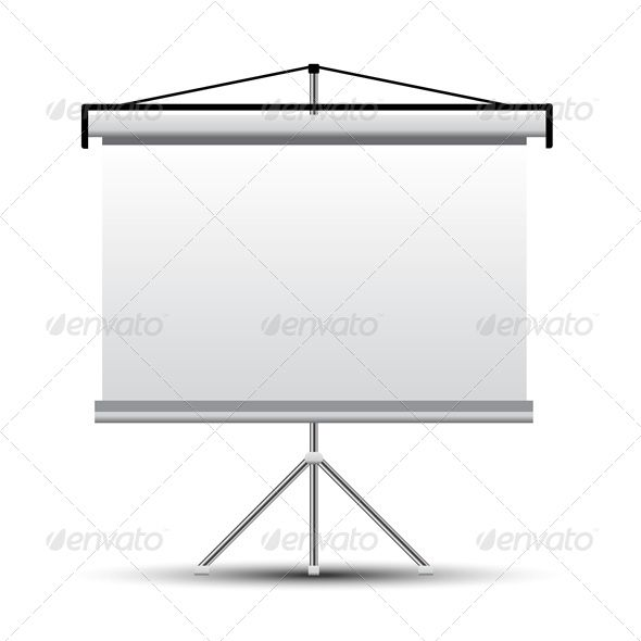 Projector Screen  #GraphicRiver         Vector projector screen. File – Eps10.     Created: 6July13 GraphicsFilesIncluded: VectorEPS Layered: No MinimumAdobeCSVersion: CS Tags: background #banner #black #blackboard #blank #board #business #canvas #chart #design #elements #equipment #frame #graphic #gray #grey #icon #illustration #isolated #office #paper #presentation #projector #roller #screen #vector #white
