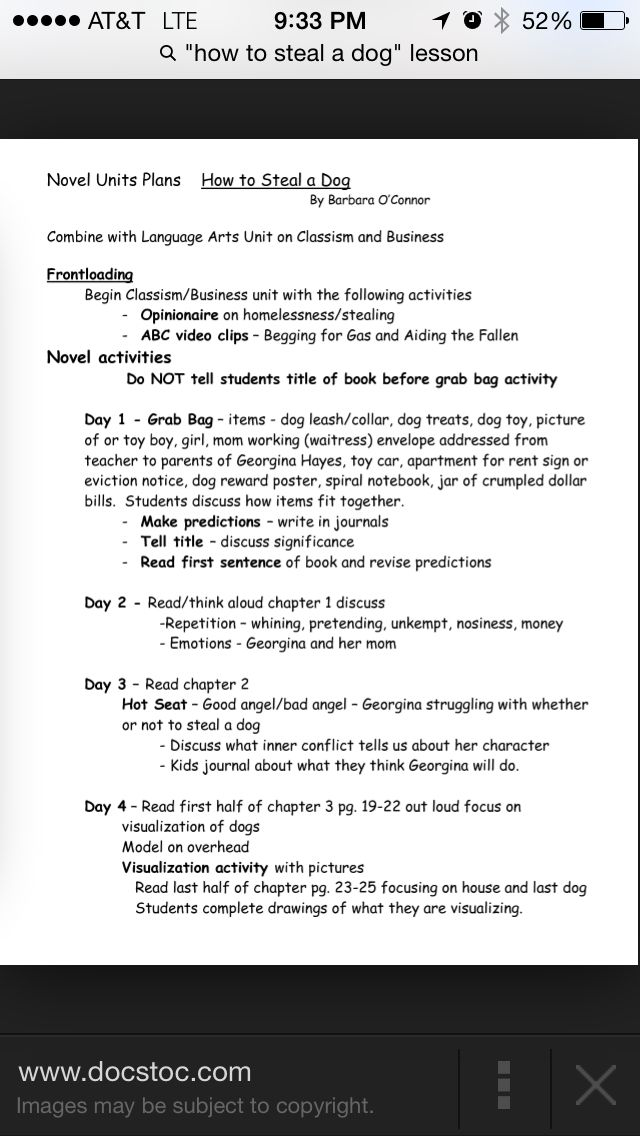 How to steal a dog introducing the book How to Steal a Dog - notice of copyright importance