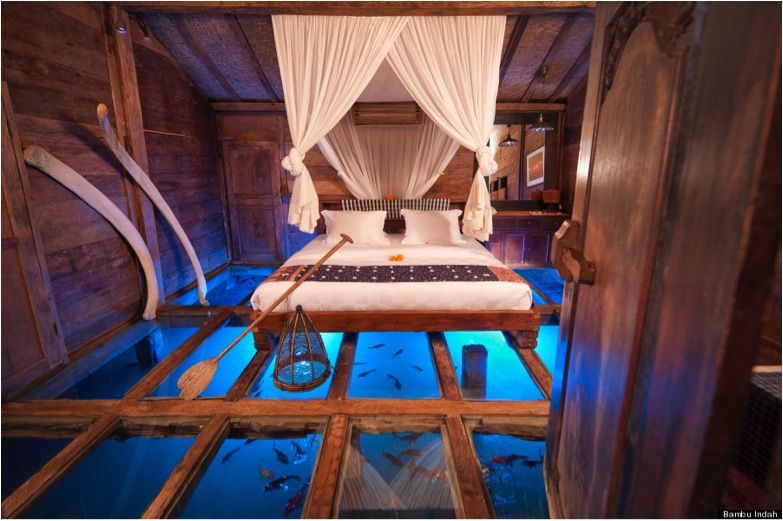 10 Incredible Hotels In Bali You Won T Believe Under 50 Glass Floor Hotels Room Bedroom Hotel