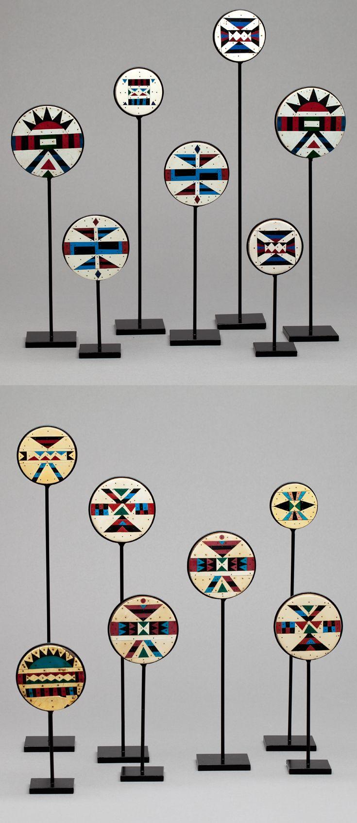 Africa Collection Of Kwazulu Earplugs From South Africa Ca 1950s The Earplugs Are Made From A South African Sof In 2020 African Art Art African