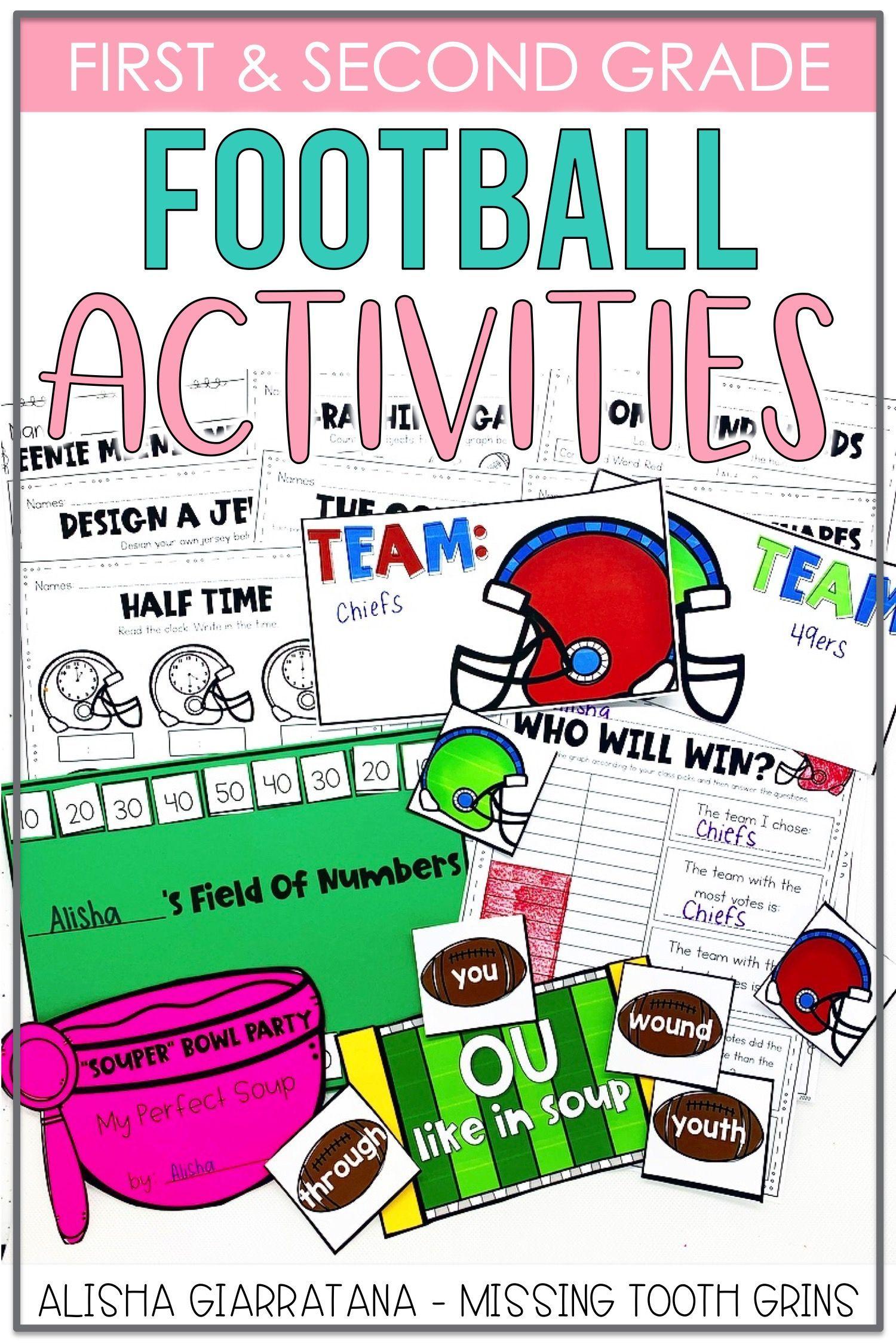 Football Themed Activities